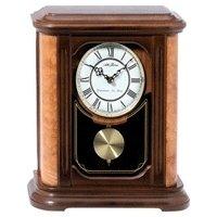 seth thomas burns pendulum mantel clock mwl 7009
