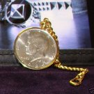 Colibri KENNEDy  HALF pocket watch KEYRING CHAIN