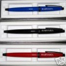 New Cross Solo Ballpoint Black on Black Harvard Logo