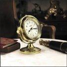 SETH THOMAS WEATHER MARITIME BRASS CLOCK TGO-1045