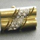 Colibri gift boxed  Cufflinks Wedding Tuxedo gold