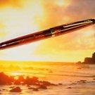 CROSS translucent solo pen AMBER  new rare &  REFILLS