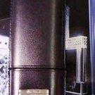 ST Dupont Black 2  finger  Cigar Case   7x2.25 free shp