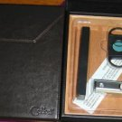COLIBRI LEATHER HUMIDOR CUTTER TORCH LIGHTER