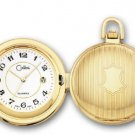 COLIBRI Pocket Watch GOLD PLATED DATE CHAIN
