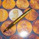 Cross V SERIES BALLPOINT PEN Tri Grip GOLD  & 5REFILLS
