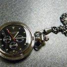COLIBRI Pocket Watch  BLACK FACED 4 DIAL