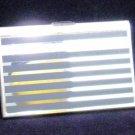 Colibri  BUSINESS CREDIT CARD CASE  LAQUER STRIPED