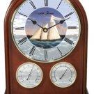 Seth Thomas NAUTICAL CLOCK THERMOMETER HYGROMETER 9051