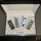 Colibri Tri-Cutta CIGAR LIGHTERS GIFT 4 PK ALL COLORS