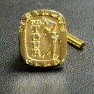 Colibri gift boxed  GOLD GOLF PGA TIE PIN