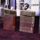 4  S.T. Dupont  silver lighters ligne 2 ligne 1 gatsby
