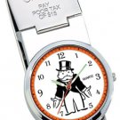 Colibri! Monopoly  Money Clip WATCH  Key Ring set
