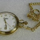 Colibri  GOLD PLATED DATE   Pocket Watch