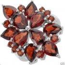Genuine Garnets Beautifully DESIGNED COCKTAIL ring