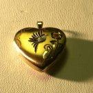 KREMENTZ  14K SOLID  GOLD HEART LOCKET   FREESHP