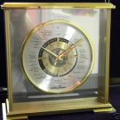SETH THOMAS  BRASS  WORLD CLOCK