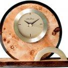 SETH THOMAS BURL FINISH CLOCK TBR009207