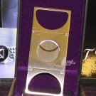 ST Dupont Stainless Steel Double Blade  Cigar Cutter