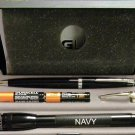 CROSS ballpoint pen and mini mag gift set navy
