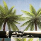Diamond pen clip lighter black laquer silver dragon