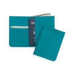 Cross turquoise Leather Passport Travel Wallet ac127-11