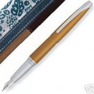 Limited Edition Cross ATX Papaya Gold Fountain Pen N-M
