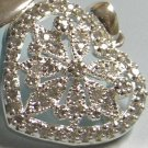 Krementz swarvoski Sterling silver locket $149.99
