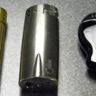 3  COLIBRI ELECTRO QUARTZ  LIGHTERS  lot-v-18