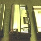 3  COLIBRI  CIGARRO CIGAR  JET TORCH   LIGHTERS LOT W-5