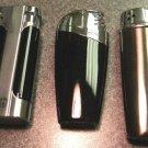 3  COLIBRI ELECTRO QUARTZ  LIGHTERS LOT T-73