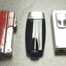 3  COLIBRI CIGAR JET TORCH   LIGHTERS LOT-t-8
