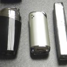 3  COLIBRI ELECTRO QUARTZ  LIGHTERS LOT F-8