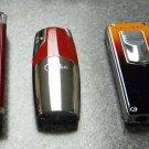 3  COLIBRI CIGAR JET TORCH   LIGHTERS LOT E-11