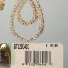 KREMENTZ 14kt  GF valentine gift  heart bfly Locket $65