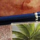 CROSS TOWNSEND FOUNTAIN PEN blue laquer  fine  nib