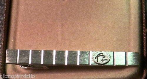 New Colibri Cigar Aficionado Silver Tie Bar Tac $85