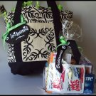 Paisley Flourish Bridesmaid Survival Tote
