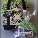 Paisley Flourish Maid of Honor Survival Tote