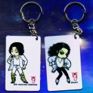 "Michael Jackson Anime Keychain ""GHOST's""  & ""30th Anniversary"""
