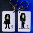 "Michael Jackson Anime Keychain ""INNOCENT""  & ""MTV Video Awards Japan"""