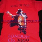 "Official ""This Is It"" Shirt, O2 Arena; Show #1, Medium & Red Hottt!!!"