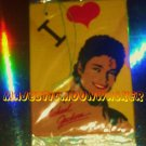 "VINTAGE '84 ""I Love Michael Jackson"" Air-Freshener! Factory-Sealed"