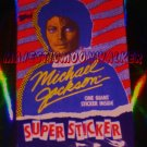 "VINTAGE Michael Jackson SuperSticker, 1984 Topps (5"" x 8.5"")"