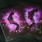 Michael Jackson (Pink Aura) Notebook + 2 Pocket Portfolio