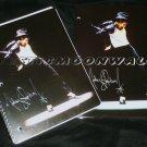 Michael Jackson (Billie Jean #2) Notebook + 2 Pocket Portfolio