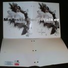 Michael Jackson (Invincible) 2 Pocket Portfolio, Officially Licensed