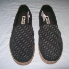 Globe Castro Men's Black/G Louis Cord Loafers Slip-Ons - US Men's Size 8
