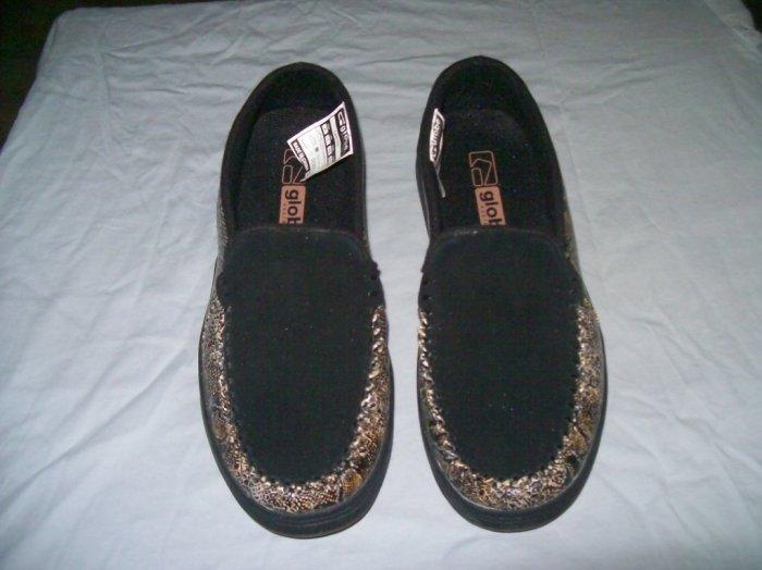 Globe Castro Black Boa Loafers Slip-Ons - US Men's Size 11