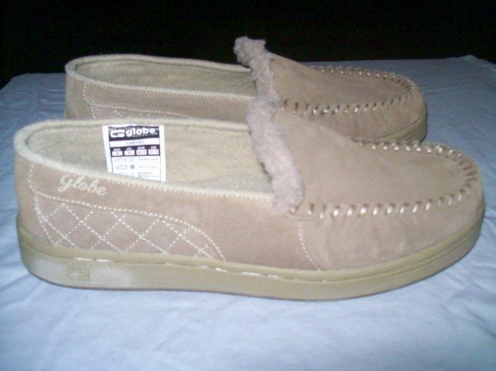 Globe Castro Granite/Khaki Loafer Slip-Ons - US Men's Size 7
